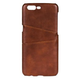 Wholesale Phone Case Wallet For Men - Luxury PU Leather Wallet Case For 1+5 Case oneplus five Case oneplus5 Business Card Holder Back Cover Phone Cases For Men