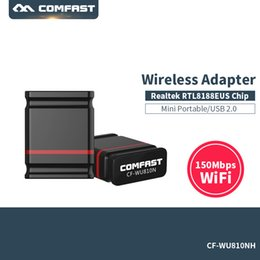 Wholesale Wireless Pci Desktop - Wholesale- Wireless USB Wifi Adapter 150Mbps Antenna Wi fi Adapter USB Wifi Receiver 802.11b n g Wifi Adaptador Network Card PCI Adaptador
