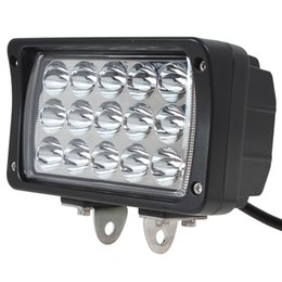 Wholesale Dc Led Flood Lights Work - 6 Inch DC 10-30V 2925LM 45W Waterproof LED Work Light for Motorcycle Tractor Boat 4WD Offroad SUV ATV CLT_415
