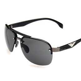 Wholesale Anti Ultraviolet - Fashion new sunglasses for men big box sunglasses for men anti-ultraviolet Driving a beach glasses Aviator sunglasses 4 selection of color