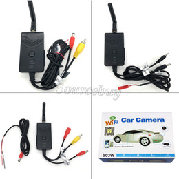 Wholesale Wireless Transmitter For Cctv Camera - Video Wifi Transmitter 903W Waterproof Wireless P2P 30fps Realtime Car Camera Transmitter for iphone Android Smart Phone CCTV FPV System