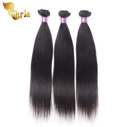 Canada Peruvian Indien Péruvien Malais Brésilien Bundles Bundles Cheveux Remy 100% Cheveux Humains 8-30 Pouces Couleur Noire Naturelle Trames De Cheveux cheap 18 inch peruvian weave black Offre
