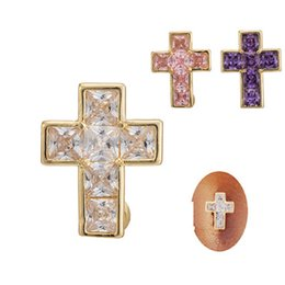 Wholesale Belly Cross - Wholesale Sexy Crystal Cross Belly Bars Belly Button Rings Belly Piercing Zircon Party Hot Body Jewelry Navel Piercing Rings Free Shipping