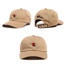 Wholesale Customized Letter - 2018 The Hundreds Rose Snapback Caps snapbacks Exclusive customized design Brands Cap men women Adjustable golf baseball hat casquette
