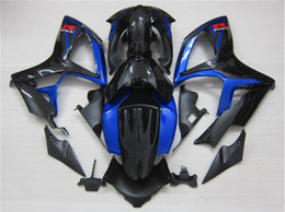 Wholesale Gsxr New Fairings - Free gifts+Seat Cowl New bike Fairing Kits For SUZUKI GSXR 600 750 K6 06 07 GSXR-600 GSXR750 GSXR600 GSXR-750 2006 2007 black blue nice