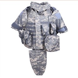 Wholesale Armor Vests - Wholesale- 2017 New OTV Tactical Vest Body Armor With Pouch Pad Size LARGE ACU Digital