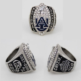 Auburn fútbol online-Nuevo Campeonato Nacional de Fútbol NCAA 2010 Auburn Tigers Starting Player's Ring, Custom Championship Ring