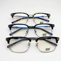 Wholesale Famous Red Wines - 2017 New MB669 eyeglasses Frame famous Italy designer glasses frame 669 dimensions of the men's large frame glasses size: 53-18-145