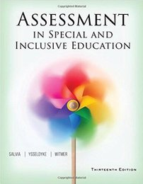 Wholesale Drop shipping book Assessment in Special and Inclusive Education th Edition