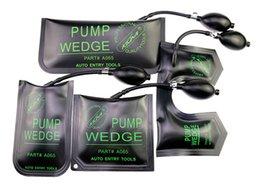 Wholesale U Lock Pick - KLOM Pump Wedge Black Small Middle Large U-Shaped Auto Lock Picking Tools Automotive Locksmith Tools Picking Car Locks