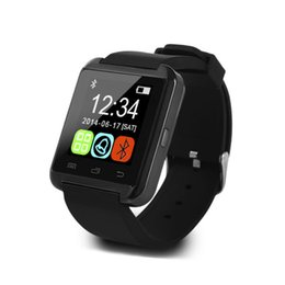 Wholesale Free Watch Video - U8 Touch Screen Smart Watch Support TF SIM Card & Video Recording Bluetooth Sport Health Smartwatch by Free Shipping