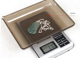 Wholesale Abs 1kg - 3kg 0.1g Digital Scale Electronic Kitchen Food Jewelry Balance ABS+Stainless Steel LCD Backlight Electronic weighing