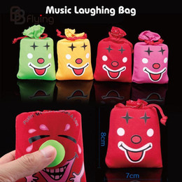 Wholesale Laughing Bags - Wholesale-Free Shipping April Fool's Music Funny Laugh Bag Pinch Laughter Great Bag 40g halloween decoration