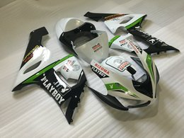 Wholesale Kawasaki Zx6r Fairings Playboy - New bike Fairings For Kawasaki ZX6R ZX-6R Ninja 636 05 06 2005 2006 ABS Cover Plastic Motorcycle Fairing Kit Bodywork set playboy