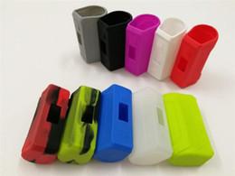 housses en silicium pour cellule Promotion Aegis 100 W Silicone Case Coloré Soft Silicon Protecteur Cellules De Peau Peau Manches Sac Accessoire Pour Aegis TC 100 Watt Vape Box Mods
