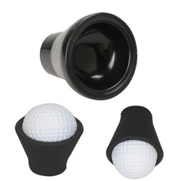 Wholesale Golf Grip Aid - Wholesale- Golf Tee Finger Ball Pick Up Suction Cup Picker For Putter Grip Caddy Sucker Retriever Golf Equipment Training Aids Accessories