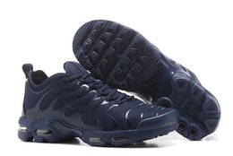 Wholesale Road Shoes Winter - Men's Daily Running Shoes Air Plus TN Sneakers For Outdoor Sports Nylon Road Running Shoes Designed For Pro Runner Sports Lover