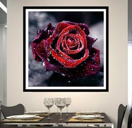 2019 grandes peças de xadrez A rosa vermelha diy diamante bordado diy needlework diamante pintura ponto cruz 5d strass pintura home decor sem moldura
