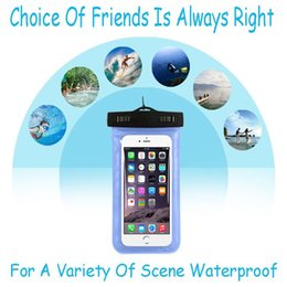 Wholesale Dive Phone - Dry Bag Waterproof Case PVC Protective Universal Phone Bag Pouch With Compass Bags For Diving For iphone 8 7 plus 6S Samsung S8 S7 edge