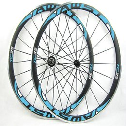 Wholesale Chinese Wheel Bike - AWST 38mm Alloy Braking Surface Carbon Wheelset Road Bike 700C Aluminium bicycle Carbon Wheels Clincher Race Bike Chinese Carbon wheelset