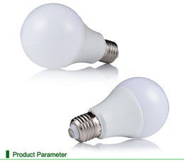 Wholesale Bright Heat - E27 3W 5W 7W 9W 12W globe dimmable 220V 110 BALL bulbs LED Bulb Light SMD5730 85-265v Heat Dissipation High Bright Lampada LED light Lamps