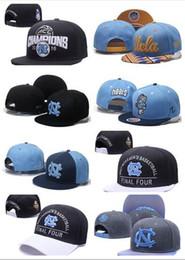 Wholesale Final Animal - 2017 NEW Men's Basketball Final Four North Carolina Tar Heels Snapback Hat Blue Black UNC Champions Blocking Embroidered UCLA Adjustabl
