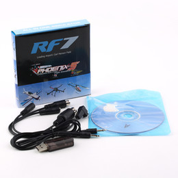 Wholesale Usb Cable For Phoenix Flight - Wholesale-22 in 1 22in1 RC USB Flight Simulator Cable for Realflight G7   G6 G5.5 G5 Phoenix 5.0 Flysky FS-I6 FS-TH9X FS-T6 FS-CT6B