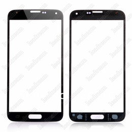 touchscreen glas s5 Rabatt Hochwertiger Front Outer Touchscreen Glass Ersatz für Samsung Galaxy s5 i9600 Black White Blue