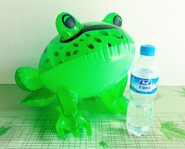 Wholesale Toy Plastic Frog - Large inflatable toys Inflatable big frog Plastic inflatable toy animals PVC frog toys