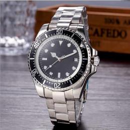 Argentina Envío libre venta caliente reloj de lujo automático de los hombres relojes de acero inoxidable reloj de buceo auto fecha R01 Suministro