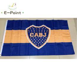 Argentina bandiere online-Argentina Club Atlético Boca Juniors 3 * 5ft (90 cm * 150 cm) Bandiera poliestere Bandiera decorazione casa volanti giardino bandiera Regali festivi
