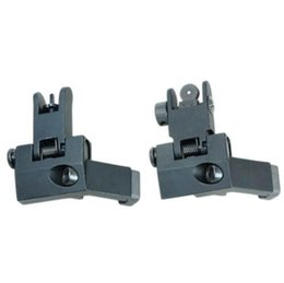 Wholesale Sight 45 Degree - Tactical RTS AR15 M6 Front and Rear 45 Degree Rapid Transition Iron Rear Sight Scope Mount Black