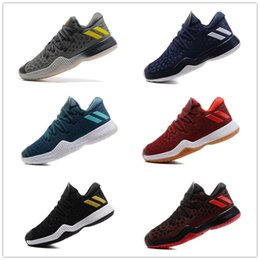Wholesale Cheap Products Good Quality - 2017 Hot Sale Harden Vol.2 Basketball Shoes Cheap Sale Men Good Quality James Harden 2S Boost New Product Casual Sports Sneakers Size 40-45