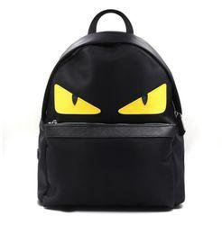 Wholesale Little Backpacks For Girls - New 2017 Women Little Monster Backpack Eye Men Waterproof Import Oxfo Bags Printing School Bag women fashion backpack for Teenagers girls