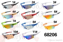Wholesale Drop Shipping Sunglasses - SUMMER Hot Sell Men cycling Sunglasses New Famous Design Sunglasses High Quality Sports Outdoor Discount Price 11Colors DROP SHIPPING