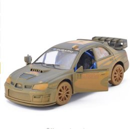 Wholesale Car Toy Boys Kid - boy cars toy 1:36 Scale Subaru Impreza WRC 2007 Racing Diecast Metal Car Model With Pull Back For Kids Gift Toys Free Shipping