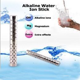 2019 varas alcalinas 1.7 * 14cm Alkaline Water Stick Varinha de água alcalina Nano Energy Stick Ionic Water Stick Eletrodomésticos 2016 desconto varas alcalinas