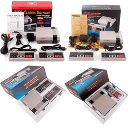Wholesale Wholesale Nes Games - Mini TV Handheld Game Console Video Game Console For Nes Games with 500 and Updated Version 600 620 Different Built-in Games PAL&NTSC DHL