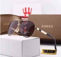 Wholesale Mixed Acrylic - High-quality imported materials HD polarized European brand sunglasses fashion designer glasses outdoor travel eyeglasses with box