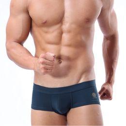Wholesale Boxer Person - Wholesale- Men's Swimming Trunks Sexy Man Beach Surf Swim Wear Shorts Swimsuit Male Comfortable Boxer Underwear BRAVE PERSON Brand Quality