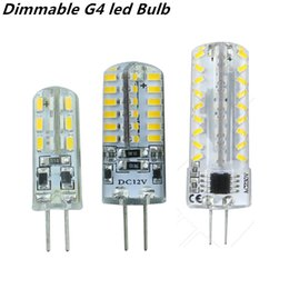 Wholesale G4 Led 12v Dimmable - 2015 new dimmable G4 led Bulb Lamp High Power SMD3014 3W 5W 6W 12V 220V Replace 10W 30W halogen lamp 360Beam Angle LED lamp