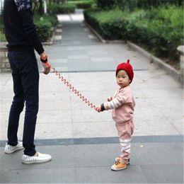 Wholesale Kids Anti Losing - Adjustable Kids Safety Anti-lost Wrist Child Safety Harness baby toddler walking belt kid Harness Leash Strap kid331