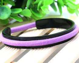 Wholesale Pcs Hair Ties - fashion jewelry Women Cuff bracelets Bangle Hair ties bracelet Hair bands holder Stainless steel bangles Min Order 20 pcs