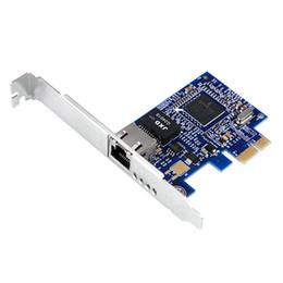 Atacado-novo Broadcom NetXtreme BCM5751 Gigabit Desktop PCI Express placa de rede 10/100 / 1000M PCI-e Mini-Card NIC cheap broadcom mini de Fornecedores de broadcom mini