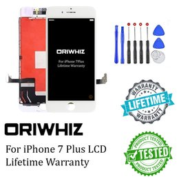 Wholesale Complete Iphone Screen - Biggest Discount For iPhone 7 Plus Lcd Screen Display Touch Digitizer Complete Assembly Replacement with Gift Tool Kit 1PCS Free Epacket