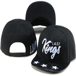Wholesale Snap Backs King - Last King Snapbacks Fitted Baseball Hats Ball Cap Hip Hop Street Headwear Snapback Hat LK Snap Back Caps Mens Adult Hats