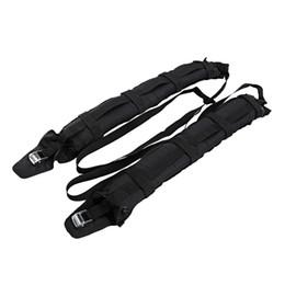 Wholesale 2Pcs Universal Auto Portable Automatic Inflatable Roof Rack Outdoor Rooftop Luggage Carrier kg Loading Capacity For Car