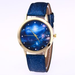 Wholesale Quartz Photos - Watch Moon Photo Unisex watches Women Men Wristwatch Starry Sky Space Watch Little Star Wristwatch ANT3455