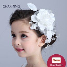 Wholesale kids wedding tiaras - Hair accessories for girls Kids beauty contest And wedding hair tiara Kids dresses for girls Best flower girl Product supplier china