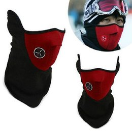 Wholesale Motorcycle Face Covering Mask - 2016 New 3 Colors Bike Motorcycle Ski Snowboard Neck Warmer Face Mask Veil Cover Sport Snow DHL fedex Free